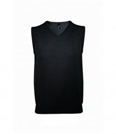 SOL'S Unisex Gentlemen Sleeveless Cotton Acrylic V Neck Sweater