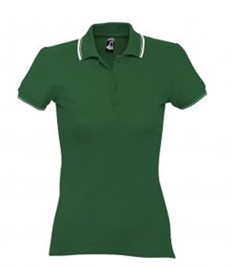 SOL'S Ladies Practice Tipped Cotton Piqué Polo Shirt
