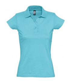 SOL'S Ladies Prescott Cotton Jersey Polo Shirt