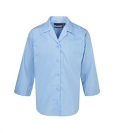 BLUEMAX GLOUCESTER TWIN PACK 3/4 SLEEVE BLOUSE
