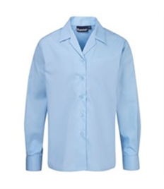 BLUEMAX TWIN PACK REVERE LONG SLEEVE BLOUSE