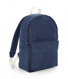 BagBase Denim Backpack