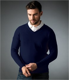 Glenmuir V Neck Cotton Sweater