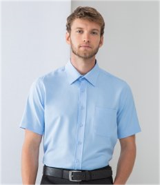 Henbury Short Sleeve Wicking Shirt