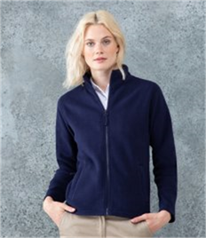 Henbury Ladies Micro Fleece Jacket
