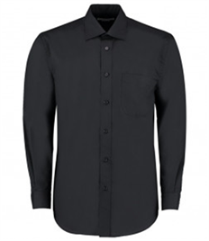 Kustom Kit Long Sleeve Classic Fit Business Shirt