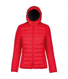 Kariban Ladies Lightweight Hooded Padded Jacket