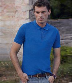 Fruit of the Loom Tailored Poly/Cotton Pique Polo Shirt