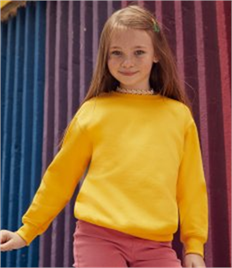Fruit of the Loom Kids Classic Drop Shoulder Sweatshirt