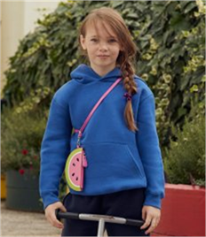 Fruit of the Loom Kids Premium Hooded Sweatshirt