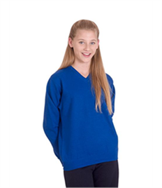 Uneek Childrens V Neck Sweatshirt