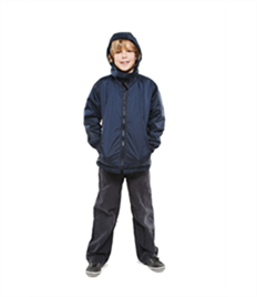 Uneek Childrens Reversible Fleece Jacket