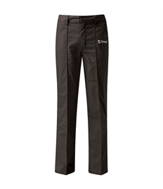 Embroidered Dickies Black Work Trousers