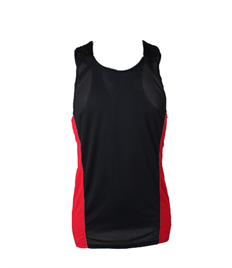 Redwell Runners Mens Running Vest COMPLETE WITH YOUR INDIVIDUAL NAME