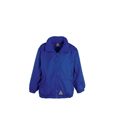 Embroidered Children's Waterproof reversible jacket