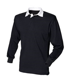 Official RRR Embroidered Long Sleeve Rugby Shirt