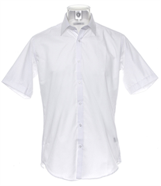 Outlaws Embroidered Slimfit Short Sleeve Shirt