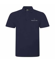 Prestige Embroidered Unisex Polo Shirt Larger Sizes