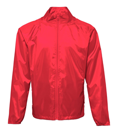 Light Weight Rain Jacket With 'Kettering Town Harriers' Printed On The Back
