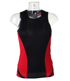 Redwell Runners Ladies Running Vest COMPLETE WITH YOUR INDIVIDUAL NAME