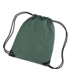 Printed Bottle Green Gym Bag