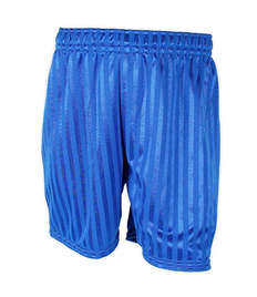 Alfred Street Plain Childrens Shadow Stripe Royal Blue Shorts
