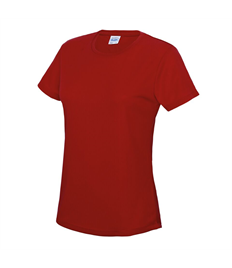 Ladies Short Sleeve Club Embroidered Training Top