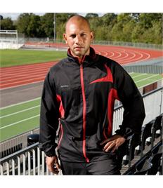 Rushden Runners Black/Red Team Jacket