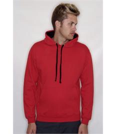 Rushden Runners Unisex Red/Black Pullover Hoodie