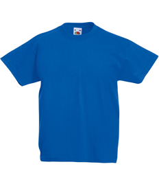 Printed Childrens Royal Blue PE T-shirt