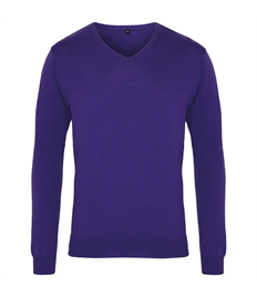 Outlaws Embroidered V-neck Jumper
