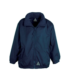 Embroidered Children's Waterproof Jacket