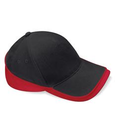 Rushden Runners Black/Red Cap
