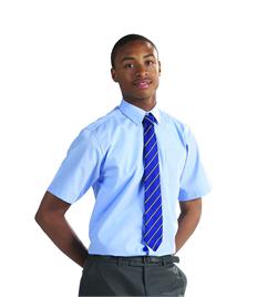 Boys Junior Short Sleeve White Shirt (Pack of 2)