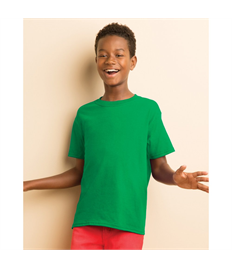 Childrens Printed Green Kestrals PE T-shirt