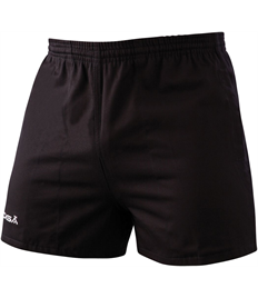 Outlaws Embroidered Black Shorts