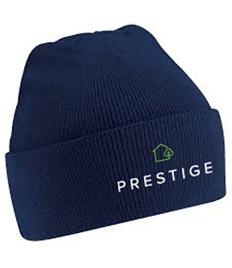 Prestige Embroidered Beanie Hat