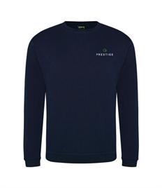 Prestige Embroidered Unisex Sweatshirt Larger Sizes