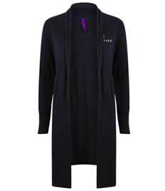 Prestige Embroidered Ladies Long Line Cardigan Larger Sizes
