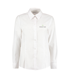 Prestige Ladies Embroidered Long Sleeve Ladies Office Shirt