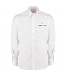 Prestige Embroidered Mens Long Sleeve Office Shirt