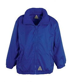 Alfred Street Embroidered Adult Royal Blue Reversible Jacket