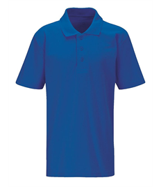 Alfred Street Embroidered Adult Royal Blue Polo Shirt
