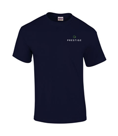 Prestige Embroidered Unisex T-shirt 3XL Size.