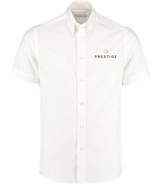 Prestige Embroidered Mens Short Sleeve Office Shirt