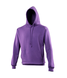 Outlaws Embroidered Purple Pullover Hoodie