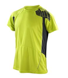 Rushden Runners Neon Lime/Grey Training T-Shirt
