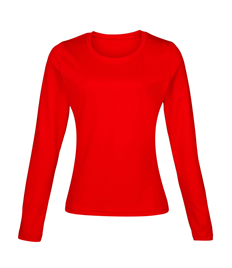 Club Long Sleeve Ladies Plain Baselayer