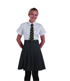 Girls Short Sleeve White Shirt (Pack of 2)