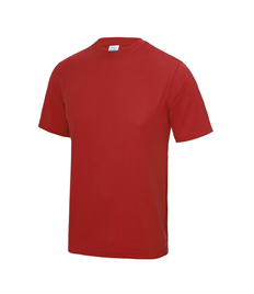 Short Sleeve Training Tee With Printed Club Logo